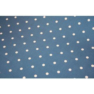 Canvas Clark & Clark Dotty Blau Punkte