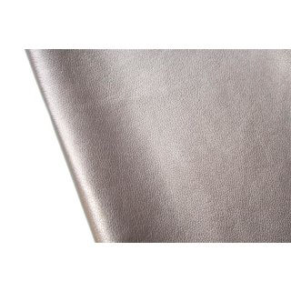Lederimitat Metallic Taupe Bronze