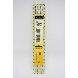 PRYM Omnigrid Lineal Ruler 1 x 6 Inch