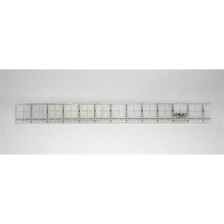OLFA Lineal Ruler QR- 1 x 12 Inch Frosted