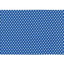 Kiss Dots Michael Miller Basic Dot Blau