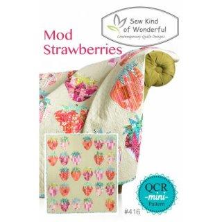 Quick Curve Mini Schnittmuster Pattern Mod Strawberries QCR mini Pattern