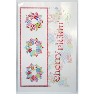 Cherry Pickin  Double Wide 4 Patch Dreden Template Ruler