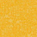 Sun Print 2019 - Alison Glass Pencil  Yellow  A-9036-Y