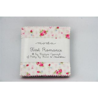 Mini Charms Pack Precut First Romantics