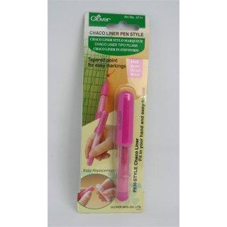 Clover Chaco Liner in Stiftform Kreidestift Pink Rosa