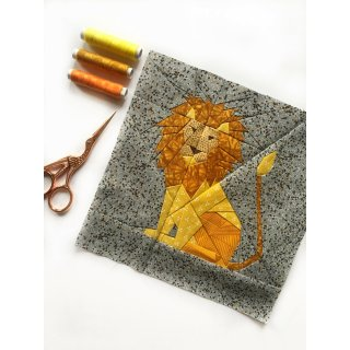 Löwe Ludwig the Lion Pattern Tutorial Schnittmuster FPP