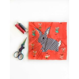 Becky the Bunny Pattern Tutorial Schnittmuster FPP Hase