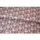 Floral Pets Blumen Blend Fabrics Hanna Pink Pale Mia Charro 129.101.05