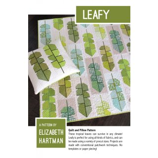 Leafy Blätter Pattern Schnittmuster Elizabeth Hartman