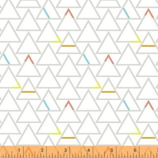 Good Vibes Only Sassafras Lane Design Shayla Wolf  51104-2 Weiß Paper