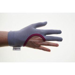 Regi´s Grip Drei Finger Quilthandschuhe Uni Pink Handschuhe Quiltgloves