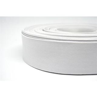 Gummiband Paket Weiß 12,5 Meter 40mm breit Weiß
