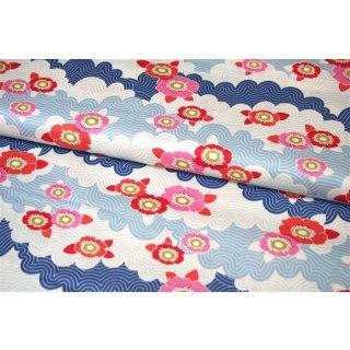 Tilda LazyDays Frances Blue  Quilt Collection Blau