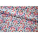 Tilda LazyDays Mildred Blue  Quilt Collection Blau
