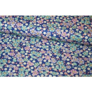 Tilda PlumGarden Wildflower BlueberryQuilt Collection Blau
