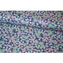 Tilda PlumGarden Wildflower BlueberryQuilt Collection Blau