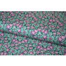 Tilda LazyDays Josephine Emerald  Quilt Collection Grün