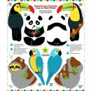 Snuggle Pillows Rainforest Friends Easy-to-Make Pillow...