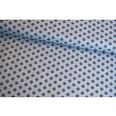 Medium Dots Basic Collection Demin Blue Hellbau Blau Tilda