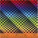 POP Dots by Another Point of View Ombre Rainbow Black Schwarz #D2