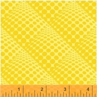 POP Dots by Another Point of View Sunflower Gelb Yellow  #4
