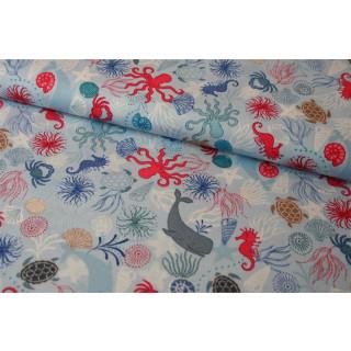 Thalassophile by Lewis & Irene Maritim Meerestiere Muscheln Seepferdchen