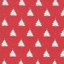 Weihnachten Country Christmas Bäume Rot