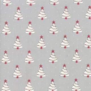 Weihnachten Country Christmas Bäume Grau Grey