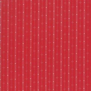 Weihnachten Country Christmas Basic Streifen Strips Rot