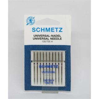 Universal-Nadel 100er für Haushaltsmaschinen Schmetz Nadeln