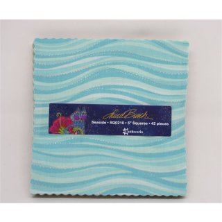 5 Squares Seaside Precut Laurel Burch SQ0210