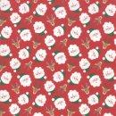 Weihnachten Christmas Jolly Season Santa Rot Cherry