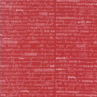Weihnachten The Christmas Card Schrift Letter Rot Red