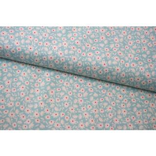 Bon Voyage Collection Paperflower Teal Tilda #257