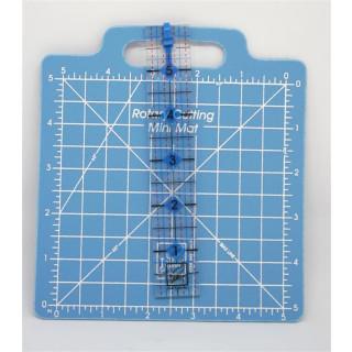 Set Rotary Cutting Mini Mat with Ruler  kleine Schneidematte incl. Lineal