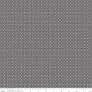Swiss Dot Steel Grau Punkte
