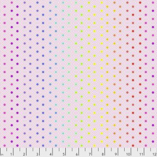 Tula Pink True Colors Hexy  PWTP151 Shell Rainbow Farbverlauf