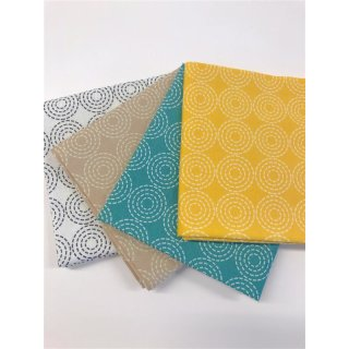 Basic Dream Stitch Circle Fat Quarter Bundle Bündel