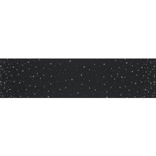 Ombre Fairy Dust  V & Co Black  #331M Sterne Silber Schwarz