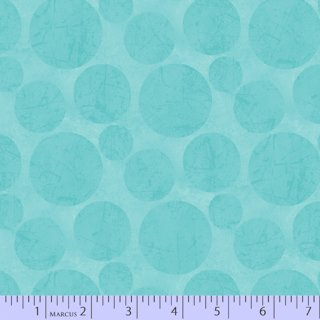 Color Bomb Basic Dots Kreise Türkis Aqua #0120