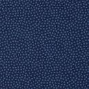 Baumwolldruckstoff Dotty Punkte Blau Dunkelblau 2mm