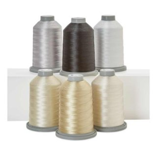 Glide 40 Perfect Blend Collection 6 neutrale Farben 5000 Mtr. King Spool Hab + Dash