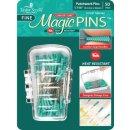 Magic Pins Stecknadeln mit Griff Grün Fine Patchwork...