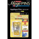Magic Pins Stecknadeln mit Griff Gelb Applique Pins...