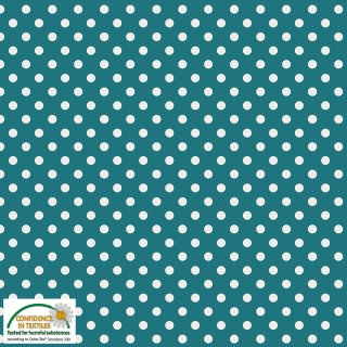 Essential Dots Punkte Petrol 679