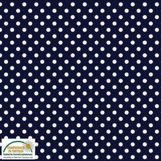 Essential Dots Punkte Blau Dunkelblau 677