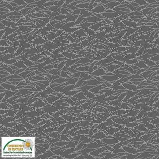 Quilters Coordinates Basic Grey Dunkel Grau 080