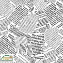 Quilters Combination Basic Schrift Weiß 048