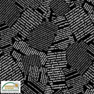 Quilters Combination Basic Schrift Schwarz 047 Black